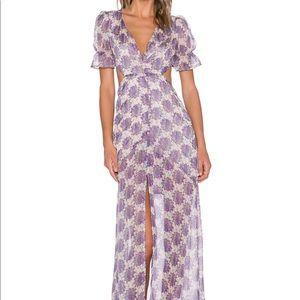 For Love and Lemons Clover Maxi Dress